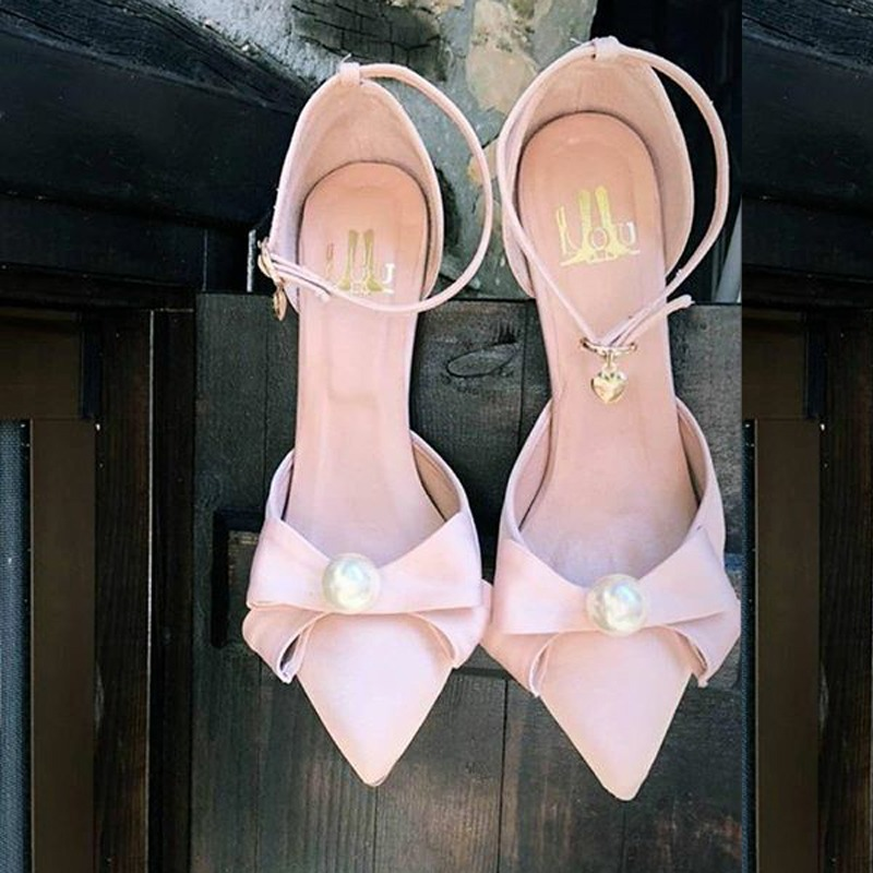 Lou bridal pumps Amelie